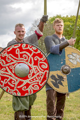 [2014-04-19@15.35.50a] (Untempered Photography) Tags: history costume medieval weapon sword shield armour reenactment combatant chainmail canonef50mmf14 perioddress mailarmour untemperedeye canoneos5dmkiii untemperedeyephotography glastonburymedievalfayre2014