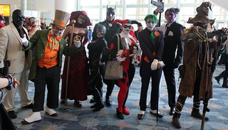 2014-Fans Dressed Up as Batman & his Rogue Gallary at Wonder-Con Anaheim-02