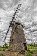 Bidston Hill Windmill (Glyn Owen Photography & Image-Art) Tags: uk england windmill sandstone cheshire hill landmark historic summit preservation bidston