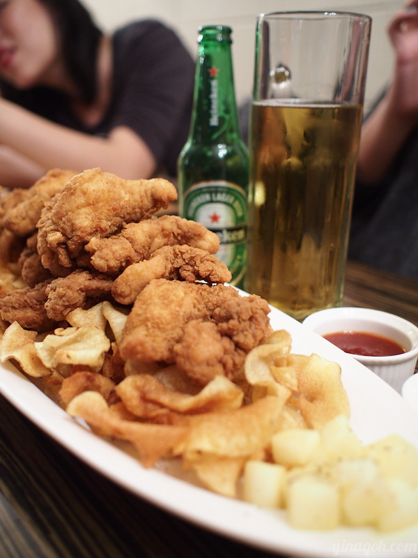 Fried chicken and beer
