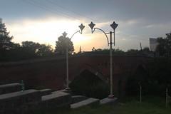 Pole Kheshti in sunset