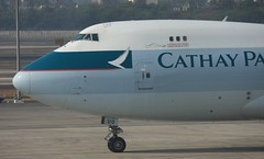 B-HUO Boeing 747-467F-SCD (cn 32571-1271) Cathay Pacific Airways Cargo.