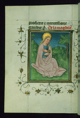 Prayer Book, including Office of the Dead, St. Mary Magdalene, Walters Manuscript W.164, fol. 168v (Walters Art Museum Illuminated Manuscripts) Tags: france history netherlands painting french book miniature illumination christian devotion flemish manuscript flanders waltersartmuseum codex prayerbook 15thcentury
