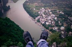 2014 9 Xing Ping (5) (SirLouisLau95) Tags: china mountain feet spring guilin yangshuo 中国 桂林 春天 阳朔 xingping 兴平