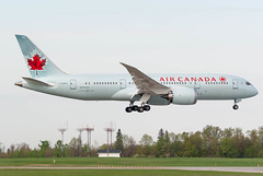 AC's first 787 to YOW (Ychocky) Tags: nikkor yow aircanada cyow 70300mmf4556 boeing7878dreamliner ottawamacdonaldcartier cghpq