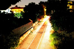D12 (Noemi Pollola.) Tags: auto street house cars home car alberi night canon dark lights evening three photo casa automobile strada farm case campagna nights 40mm macchina notte luce scuro 100d ef40 canon100d