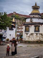 Ступа Кумбум в Гьяндзе, Тибет