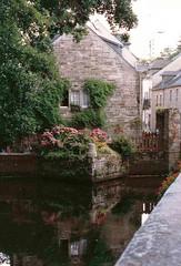 Une vieille photo ,  un joli coin... à Pont-Aven ( Finistère-Bretagne ) (Irma-48) Tags: dellamore bretagnabretagnefinistèrefinisterraavenpontavenpont avenimpressionistiimpressionistespeintrespittoriquadritableauxbosco