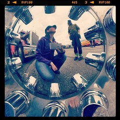 #truckmeet #strngns #malmby #truck #selfie #self #selfportrait #hubby #love #sky #wheel #fisheye #girl #boy #me #myself #i #webstapick #retro #awesome #sweden #jag #cool #customtruck #peterbilt #classic #vintage #nostagia (Estethia) Tags: square nashville squareformat iphoneography instagramapp uploaded:by=instagram