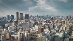 Where's Wally? ({heruman}) Tags: city urban color tower japan skyline nikon cityscape osaka 169 skycraper shinsekai tsutenkaku d600 germanvidal 1835g