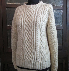 Aran wool sweater (Mytwist) Tags: irish classic wool fashion vintage sweater warm ebay craft style cables passion jersey jumper etsy knitted aran pullover knitwear cabled gardenspring vtg