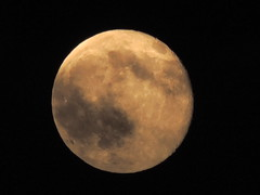 Honey Moon (George Neat) Tags: county moon night clouds sunsets full honey friday 13th township sewickley 2014 westmoreland hempfield herminie