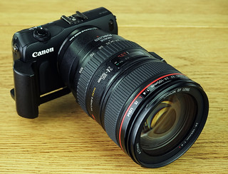 Canon EOS to EOS M adapter