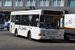 City Sprinter Dennis Dart SLF V732DNL - Glasgow (dwb transport photos) Tags: bus pointer glasgow dennis dart plaxton citysprinter v732dnl