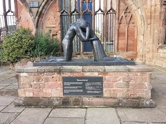 "Reconciliation Statue, Coventry Cathedral • <a style=""font-size:0.8em;"" href=""http://www.flickr.com/photos/9840291@N03/14495657831/"" target=""_blank"">View on Flickr</a>"