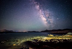Cosmic Rim (Christophe_A) Tags: nikon greece astrophotography christophe cyclades antiparos milkyway 14mm agiosgeorgios samyang anagnostopoulos nikond800 christopheanagnostopoulos