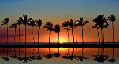 Reflections of Paradise (Jeff Stamer (Firefallphotography.com)) Tags: sunset reflection hawaii