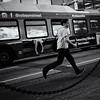 Robson life (. Jianwei .) Tags: street bus vancouver legs candid running waterst juxtapositions nex kemily nex6