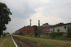 Stary Jawor train station & sugar plant complex 08.07.2014 (szogun000) Tags: old railroad brick industry station canon buildings industrial platform tracks poland polska rail railway complex pkp sidings sugarplant lowersilesia dolnośląskie dolnyśląsk jawor canoneos550d canonefs18135mmf3556is staryjawor cukrowniajawor d29137