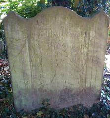 Whalesby / Turner headstone