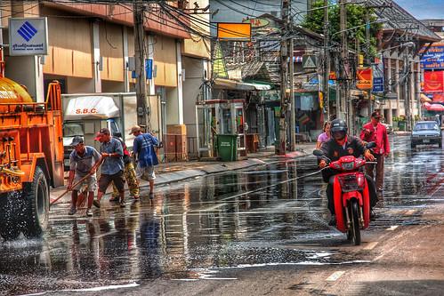 Chiang Mai roads