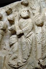Saint Thomas sur le tympan marial de Cabestany