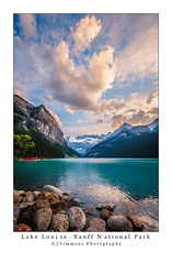 Lake Louise Banff National Park (seanajsimmons) Tags: canada mountains clouds landscape ngc lakes banff lakelouise ajsimmons