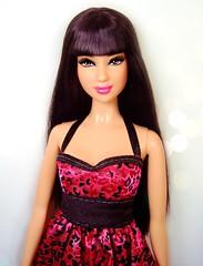 BB5 in pink leopard #2 (Bridget_John316) Tags: pink asian 5 barbie leopard lea denim 20 kayla basics