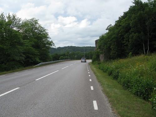 Road 171 between Hallinden and Åbyfjorden 2013