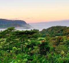 Hanalei dawn (Saburosan) Tags: kauai balihai hanaleibay