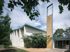 Yarralumla Methodist (now Uniting) Church (Chimay Bleue) Tags: canberra yarralumla unification unified church midcentury modernism modernist design architecture architect australia 50s vintage 1950s