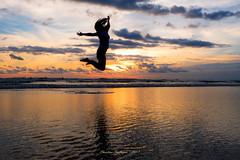 Sunset in Seminyak 1 (tian_allagans) Tags: sunset seminyak bali beach indonesia siluet
