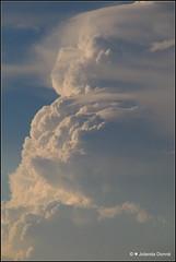Gewitterwolke über dem Bodensee (Jolanda Donné) Tags: wolken wolkenturm gewitterwolke wetter himmel abendhimmel natur bodensee rorschach schweiz juni juni2016 24062016 canoneos70d