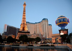 Ballys, Eiffel Tower and Planet Hollywood