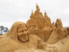 Sand castles at Frankston (Joybelle007) Tags: sandsculptures frankston clever australia