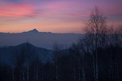 Monviso (FButzi) Tags: sunset winter alpi cozie monviso