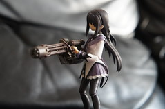 Minigun Homura (Madoka Magica) (Marco Hazard) Tags: figma akemi homura puella magi madoka magica mahou shoujo dark magical girl minigun gatling gun 魔法少女まどか☆マギカ armored core 5 chogokin ucr10 urc10a vengeance