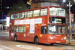 VLA72 @ London Waterloo (ianjpoole) Tags: arriva london volvo b7tl transbus international alx400 lj04yxb vla72 working route 176 pawleyne arms penge trafalgar square