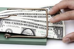 Money Mousetrap (Joe Pitz) Tags: finance money mousetrap