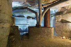 Abandoned coal heater (Lion Exploration) Tags: misterious exploration quarry carrière underground souterrain limestone calcaire cave grotte ruines block rock lost mineral champignonnière chauffage heating