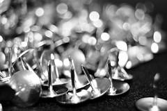 Metal drawing pins macro. (rawdonfox) Tags: nikond5200 nikon macro macromondays drawing pins drawingpins rawdonfox