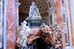 IMG_1000SP Rome. Vatican. San Pietro. Tombeau d'Alexandre VII par Giovanni  Bernini. Tomb of Alexander VII by Giovanni Bernini (jean louis mazieres) Tags: rome vatican sanpietro