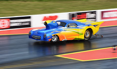 Nitrous Willys (Fast an' Bulbous) Tags: car vehicle automobile doorslammer promodified santa pod easter england motorsport outdoor fast speed power drag race strip track pits nikon d7100 gimp