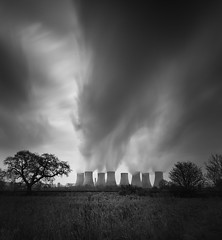 Full Steam (TS446Photo) Tags: nikon power landscape station vape steam blackandwhite longexposure