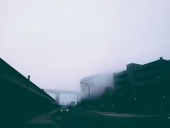 Foggy day in Downtown Buffalo (iamlewolf) Tags: buffalonewyork buffaloouterharbor buffalony buffalo ny wny westernnewyork beautiful fog foggy blue sky street streetphotography city gloomy moody mood