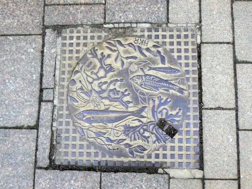 Manhole cover, Aleksanterinkatu, Helsinki