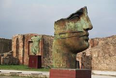 i've got a broken face (doggle) Tags: canoneos500n kodakportra160 film 35mm italy pompeii roman sculpture igormitoraj