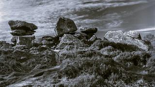 Brimham Rocks panoramic