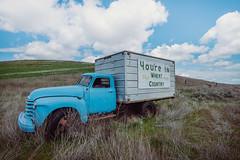 Wheat Country Truck (Pedalhead'71) Tags: adams truck rural washtucna washington unitedstates us wheatcountry