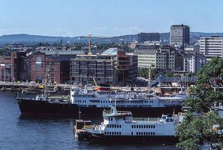 Vacaciones Julio 1986. Oslo